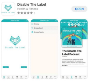 Disable The Label app image